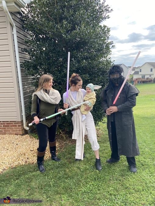 Family Fun, Baby Yoda and the Millennium Falcon Costume