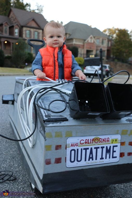 The Time Machine, Back to the Future Costume