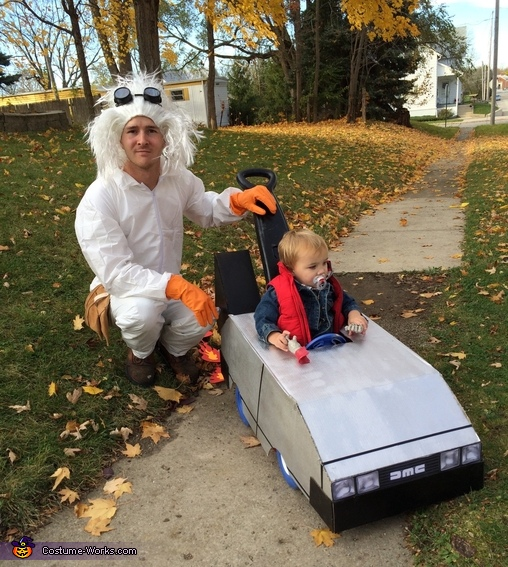 parent and baby costume ideas back to the future costume