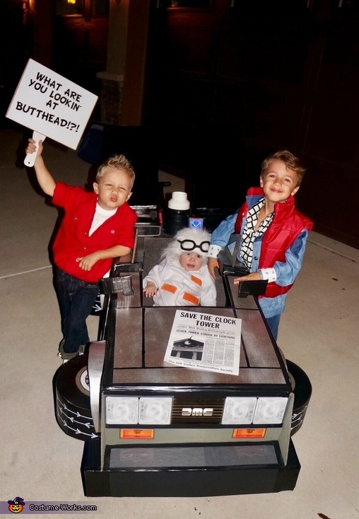 Back to the Future Brothers Costume