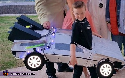 Back to the Future Delorean Time Machine Costume