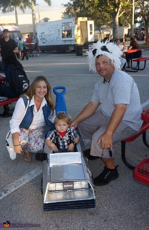 Family shot 3, Back to the Future Family Costume