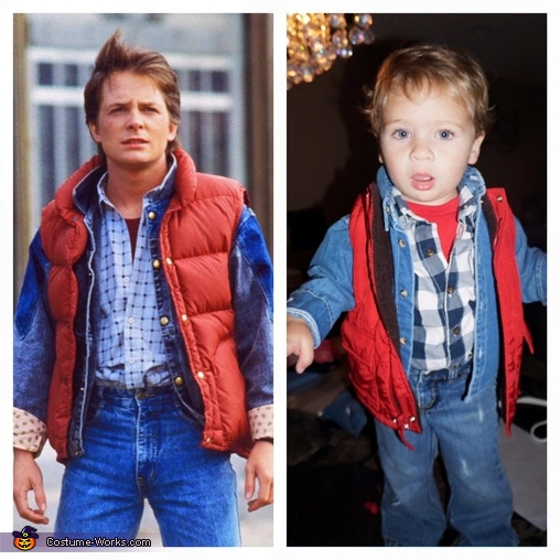 Marty (Jacob) McFly, Back to the Future Costume