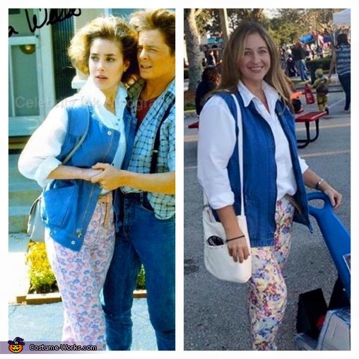 Jennifer (Mommy) Parker, Back to the Future Costume