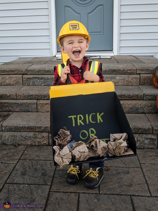 Backhoe Costume, Backhoe Costume