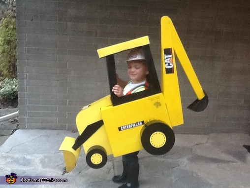 Backhoe Costume 3, Backhoe Costume