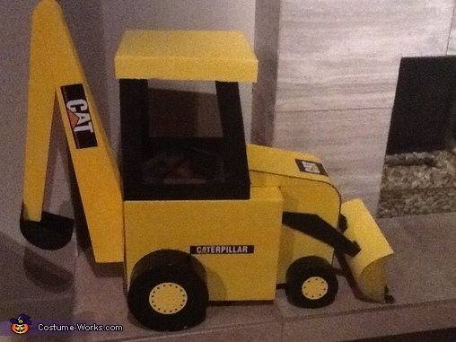 Backhoe Costume 4, Backhoe Costume