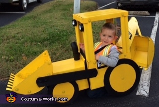 Taking a Break, Backhoe Costume