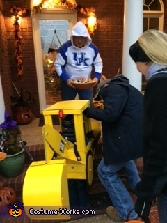 Trick or Treat, Backhoe Costume