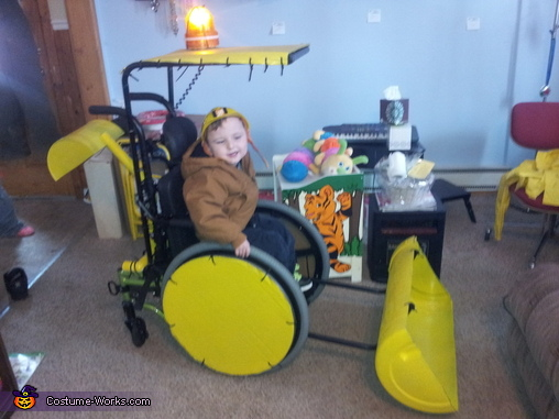 Backhoe Costume