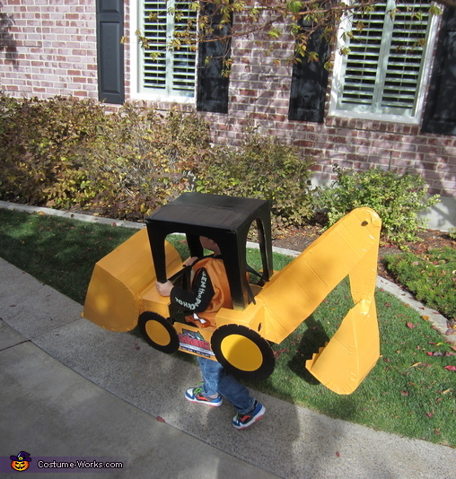 Backhoe Tractor Costume