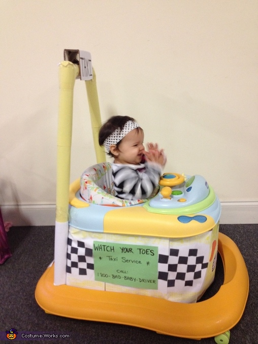 Bad Baby Taxi Driver Homemade Costume