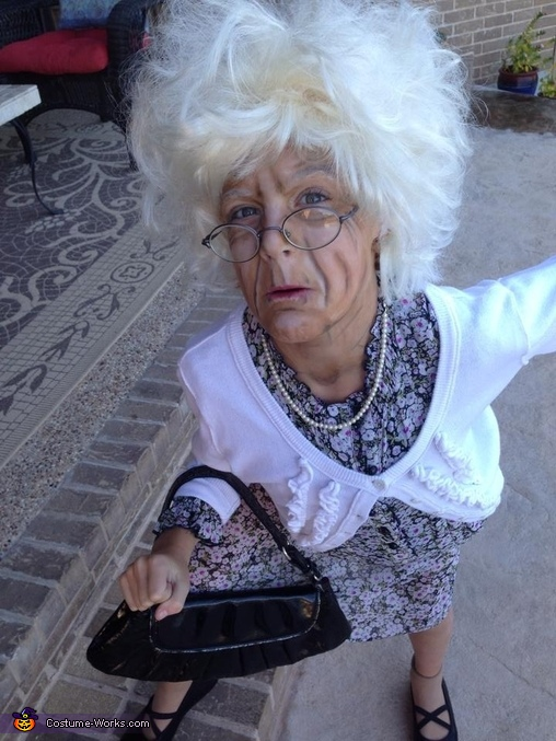 Bad Grandma Girl S Costume Photo 7 8