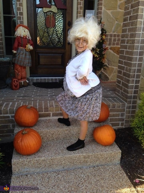 Bad Grandma Homemade Costume