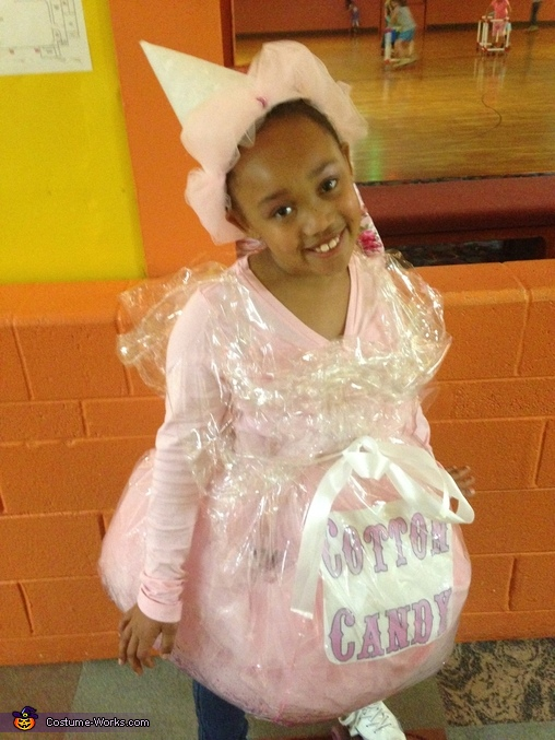Bag of Cotton Candy Costume