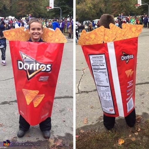 Bag of Doritos Costume