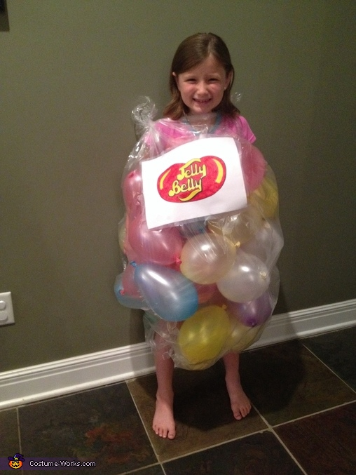 Bag of Jelly Beans Costume