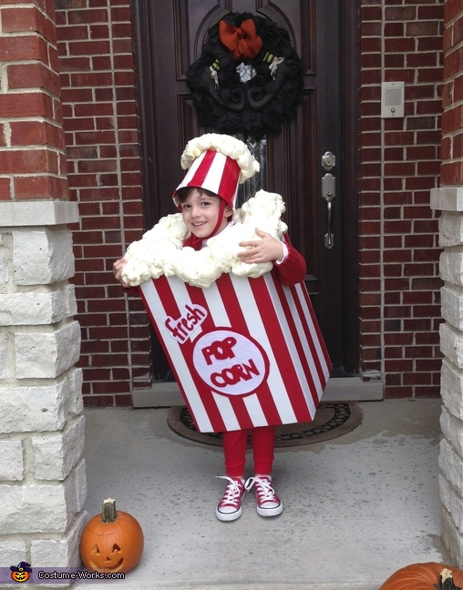 Bag of Popcorn Costume
