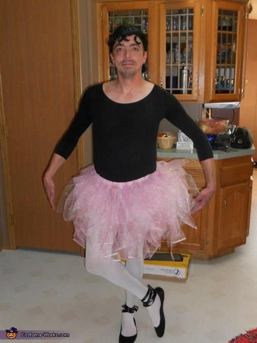 Ballerina Fun Halloween Costume Ideas Men Adults