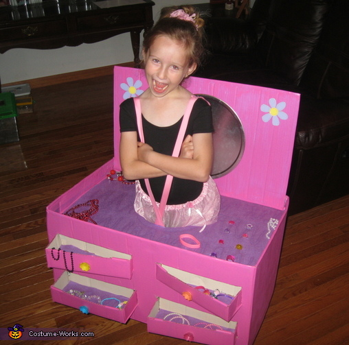 Ballerina in a Jewelry Box Costume  sc 1 st  Costume Works & Ballerina in a Jewelry Box Halloween Costume