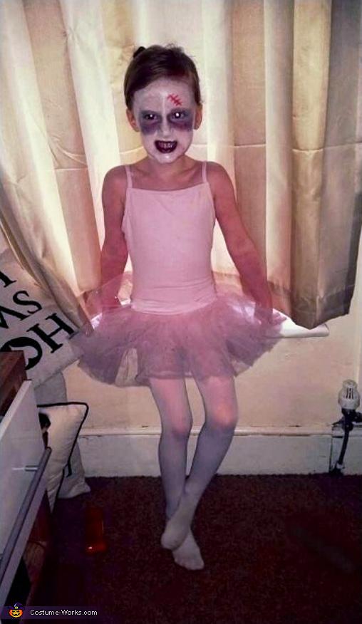 Ballet Zombie Girl Costume