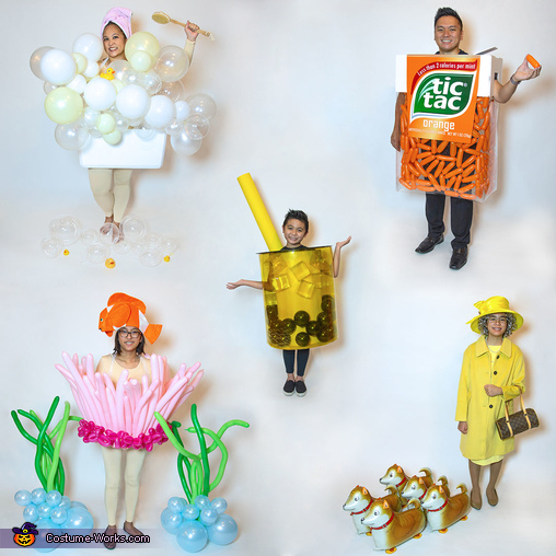 Balloons Galore Family Costume