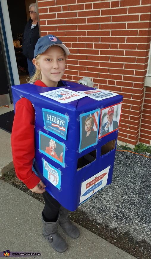 Ballot Box Costume