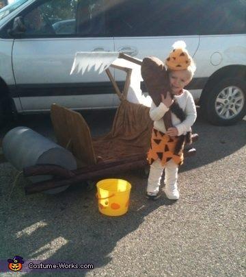 Bam Bam Homemade Costume