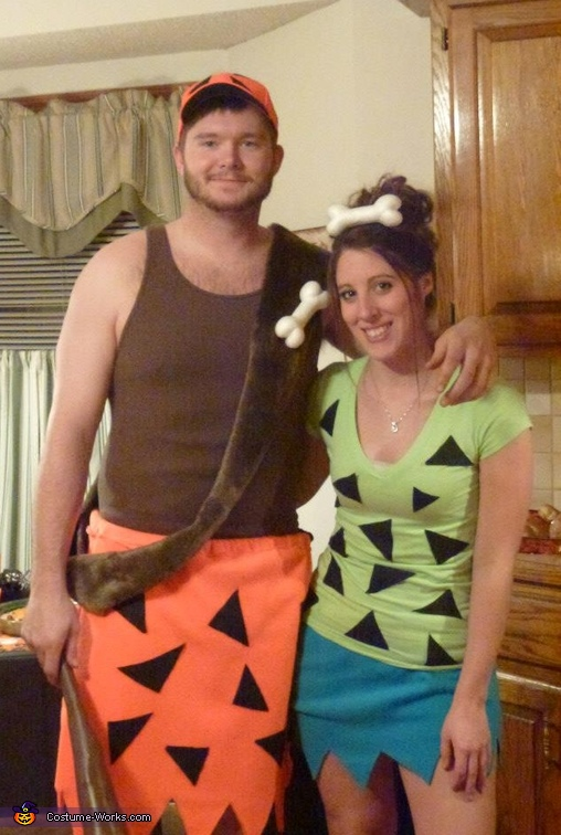 bammbamm and pebbles costume