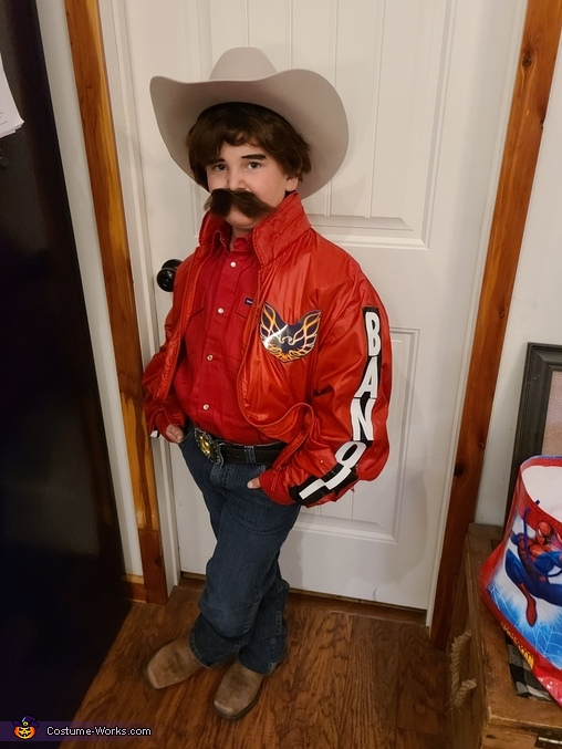Bandit from Smokey and the Bandit Homemade Costume