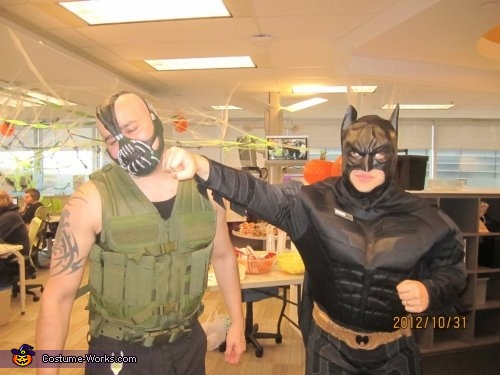 first blood, Bane Costume