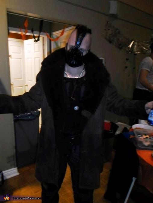 Full Costume with Jacket, Bane Costume