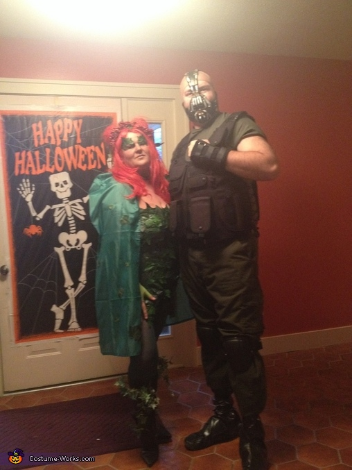Bane and Poison Ivy Homemade Costume