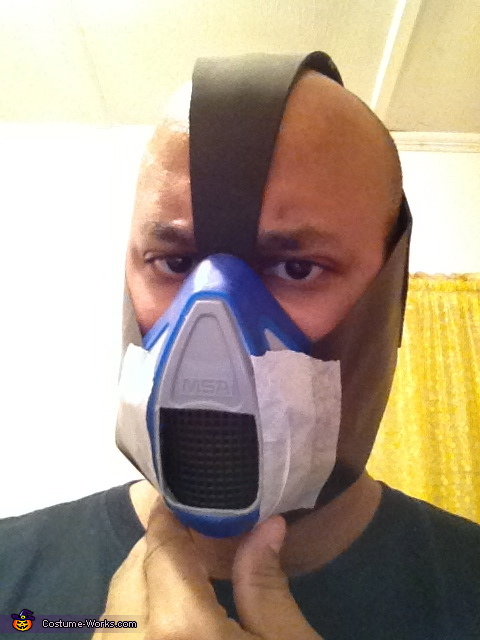 fitting, The Dark Knight Rises Bane Costume