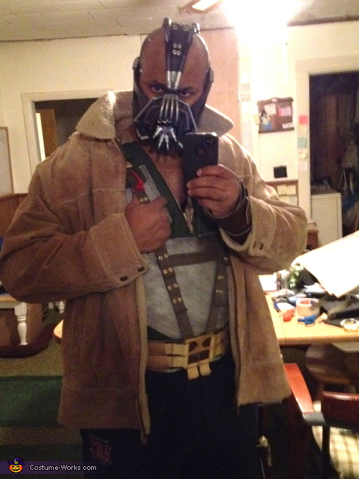 The Dark Knight Rises Bane Costume