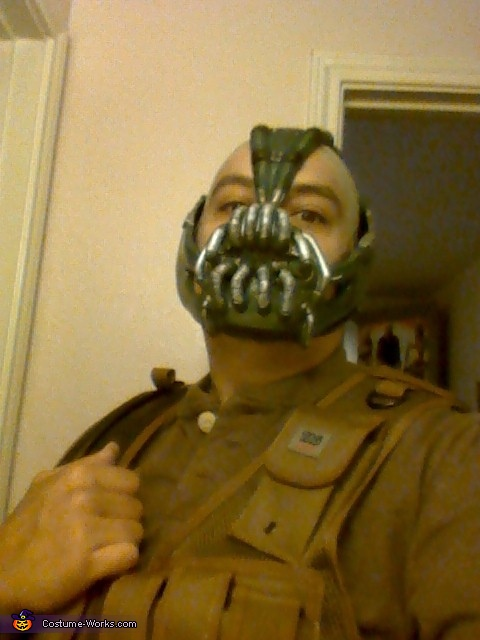 Bane Costume The Dark Knight Rises