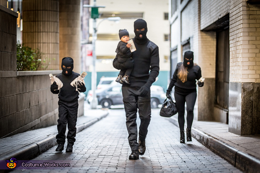 Bank Robbers Homemade Costume