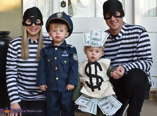 Bank Robbery Costume