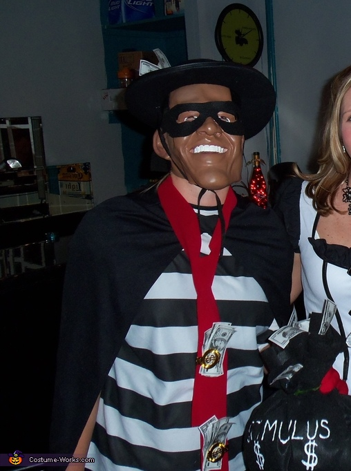 Barack Oburglar - Homemade costumes for adults