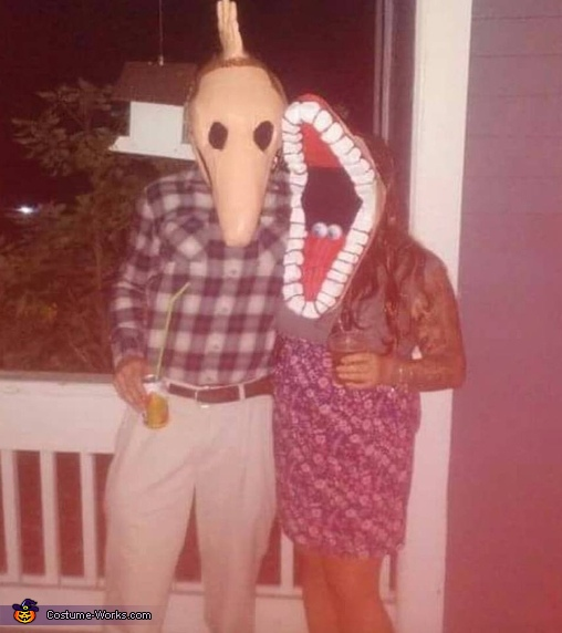 Barbara and Adam Maitland Costume