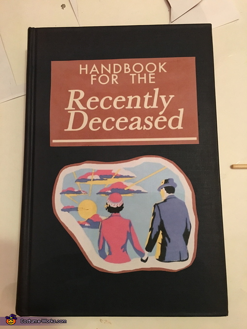 Handbook for the recently deceased, Barbara and Adam Maitland Costume