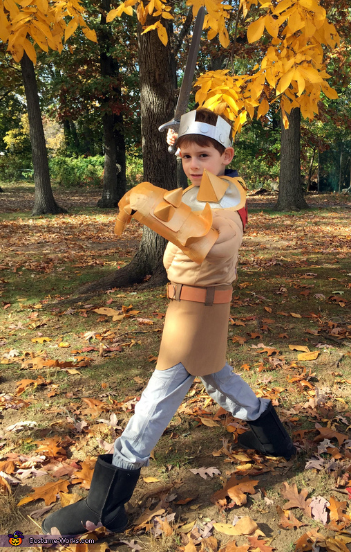 Barbarian King, Clash of Clans Family Costume