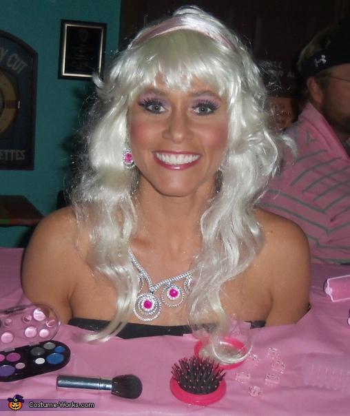 Outstanding Barbie Styling Head Halloween Costume Idea For Women Short Hairstyles Gunalazisus