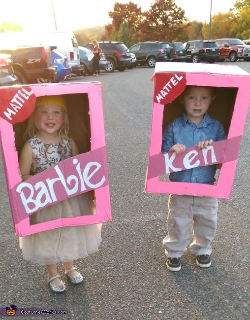 Barbie And Ken Kids Costume