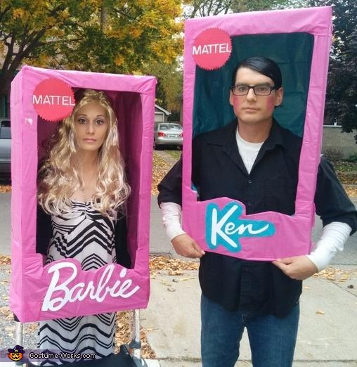 Barbie and Ken Dolls Costume