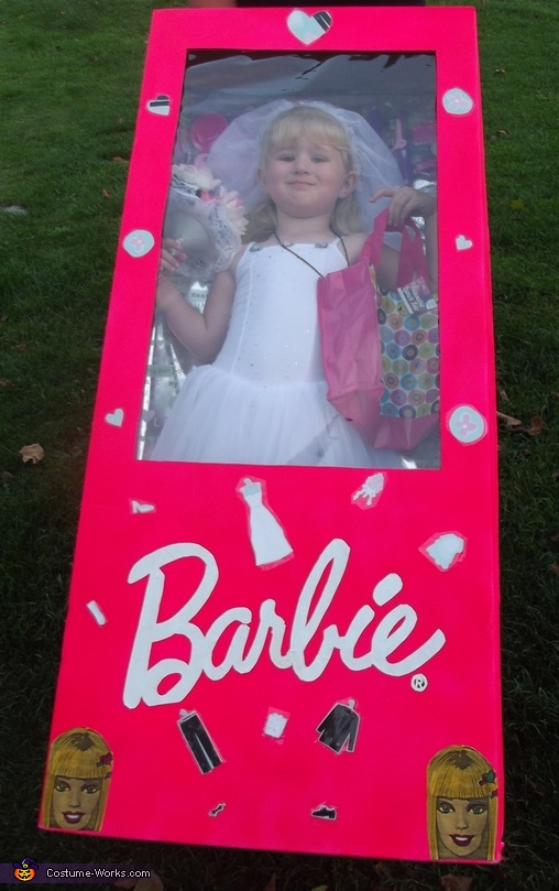 Barbie Bride in a Box Costume