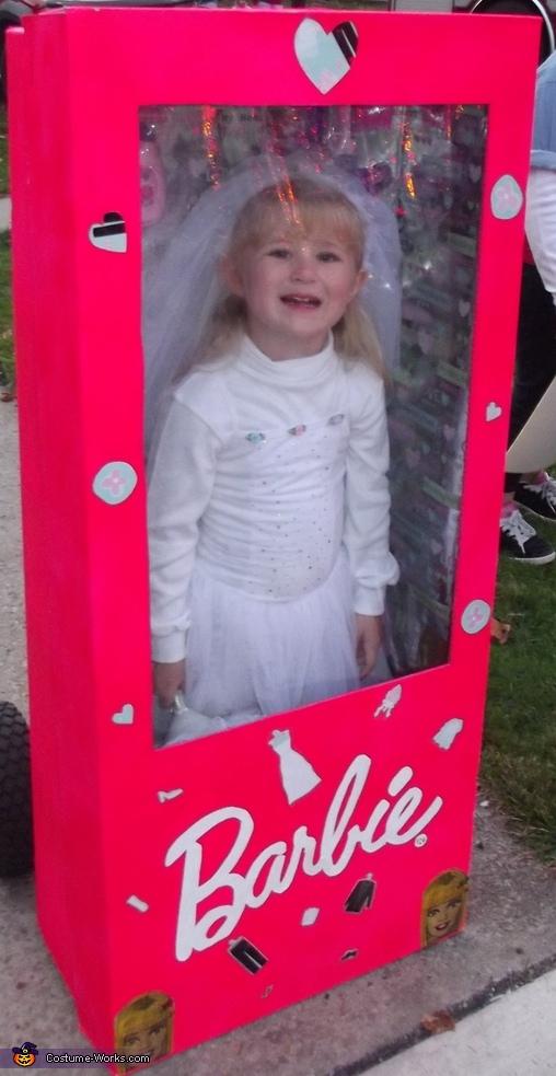 Barbie Bride in a Box Costume