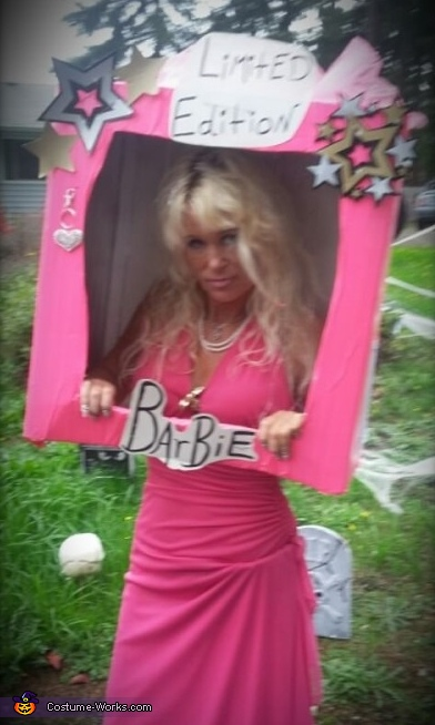 Barbie in a Box Costume