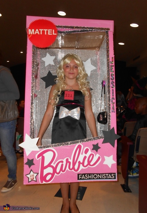 Barbie in a Box Costume  sc 1 st  Costume Works & Barbie in a Box Halloween Costume