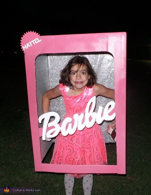 Barbie in a Box Costume
